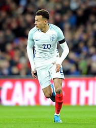 Dele Alli of England  - Mandatory by-line: Dougie Allward/JMP - 29/03/2016 - FOOTBALL - Wembley Stadium - London, United Kingdom - England v Netherlands - International Friendly