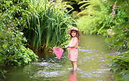 24th May <br />Dorrie Cunningham 6yrs  from Epsom enjoys the river on a school break  Bank Holliday weekend