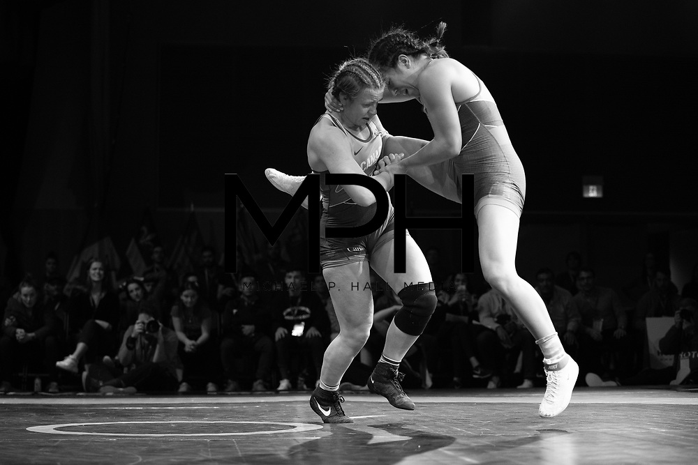 Athletes compete in the Freestyle Wrestling Canada Olympic Trials ahead of the 2020 Tokyo Olympics in Niagara Falls, ON on Saturday, December 7, 2019. Wrestling Canada