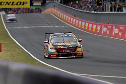 October 8, 2018 - Bathurst, NSW, U.S. - BATHURST, NSW - OCTOBER 07: David Reynolds / Luke Youlden in the Erebus Penrite Racing Holden Commodore heads down pit straight at the Supercheap Auto Bathurst 1000 V8 Supercar Race at Mount Panorama Circuit in Bathurst, Australia on October 07, 2018 (Photo by Speed Media/Icon Sportswire) (Credit Image: © Speed Media/Icon SMI via ZUMA Press)