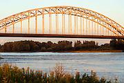 Nederland, Nijmegen, 26-7-2011Waalbrug , brug over de waal bij Nijmegen.Foto: Flip Franssen/Hollandse Hoogte