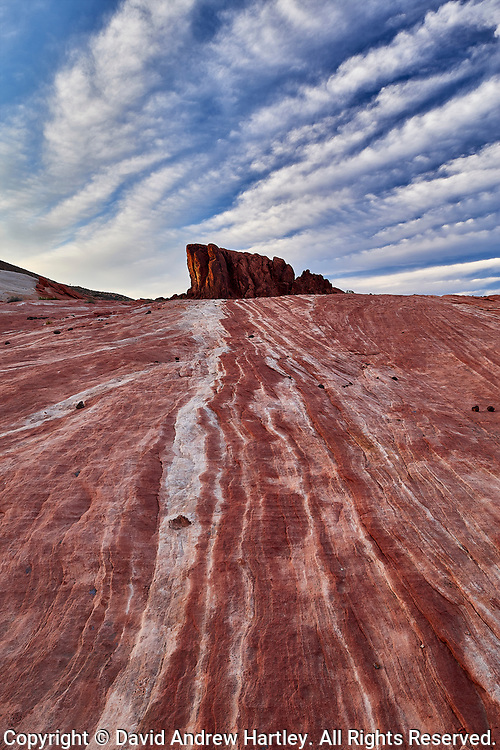 Red Sandstone Rock, Valley of Fire State Park, Nevada