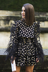 March 4, 2018 - Paris, France - Camila Coelho is seen on the street attending Valentino during Paris Women's Fashion Week A/W 2018 wearing Valentino on March 4, 2018 in Paris, France. (Credit Image: © Nataliya Petrova/NurPhoto via ZUMA Press)