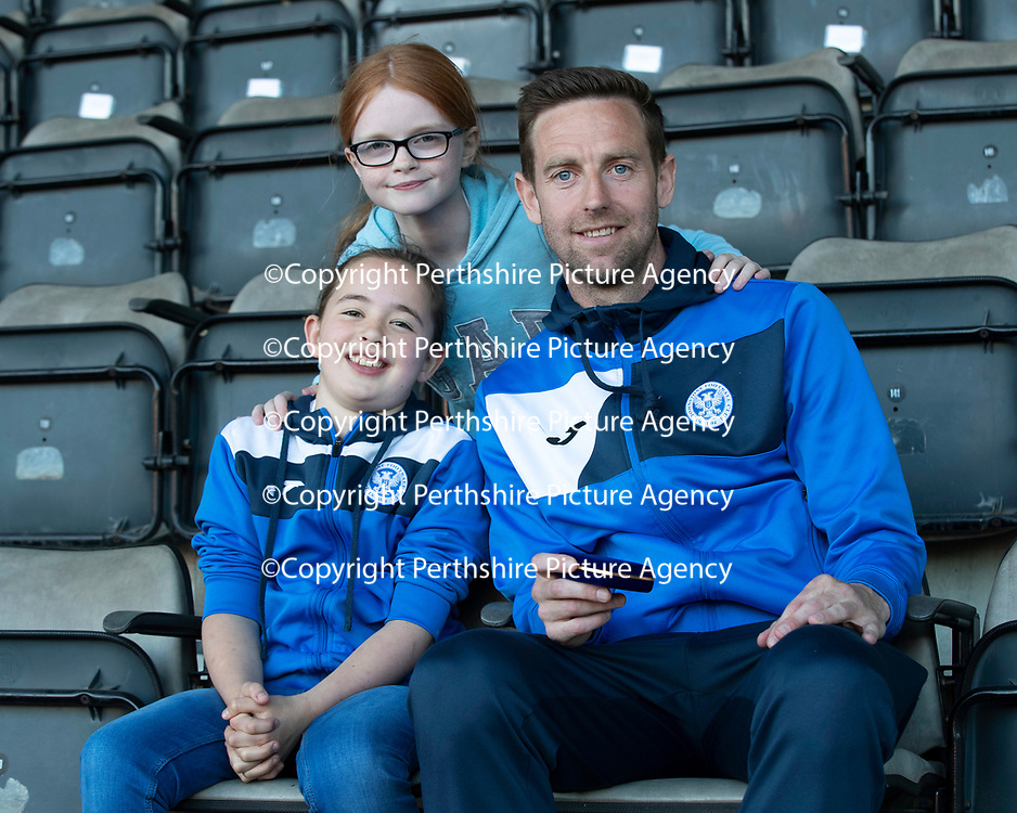 St Johnstone Players Sponsors Night…10.05.18<br />Steven MacLean Players Sponsors Player of the Year<br />Picture by Graeme Hart.<br />Copyright Perthshire Picture Agency<br />Tel: 01738 623350  Mobile: 07990 594431