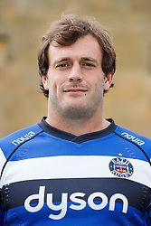 Luke Arscott of Bath Rugby poses for a head shot at the club's training ground - Photo mandatory by-line: Rogan Thomson/JMP - 28/08/2014 - SPORT - RUGBY UNION - Farleigh House, Bath - Bath Rugby Media Day 2014/15 - Aviva Premiership.