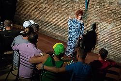 4 October 2015, Santa Clara, Cuba: One Santa Clara's pubs features Cuba's only drag show.