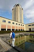 Gent, Belgie, Mar 16, 2009, De Boekentoren, Universiteitsbibliotheek gebouwt door Henry Van de Velde, ©Christophe VANDER EECKEN