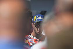August 12, 2018 - Spielberg, Austria - before podium ceremony of Austrian MotoGP grand prix in Red Bull Ring in Spielberg, Austria, on August 12, 2018. (Credit Image: © Andrea Diodato/NurPhoto via ZUMA Press)