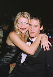 MISS JEMMA KIDD and MR DAVID DE ROTHSCHILD son of banker Sir Evelyn De Rothschild, at a ball in London on 25th September 1997.MBO 32