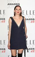 Rosie Lowe, ELLE Style Awards 2016, Millbank London UK, 23 February 2016, Photo by Richard Goldschmidt
