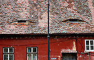 'Windows to the soul' - 'eyelid' windows, Sibiu (European Capital of Culture 2007), Transylvania, Romania © Rudolf Abraham