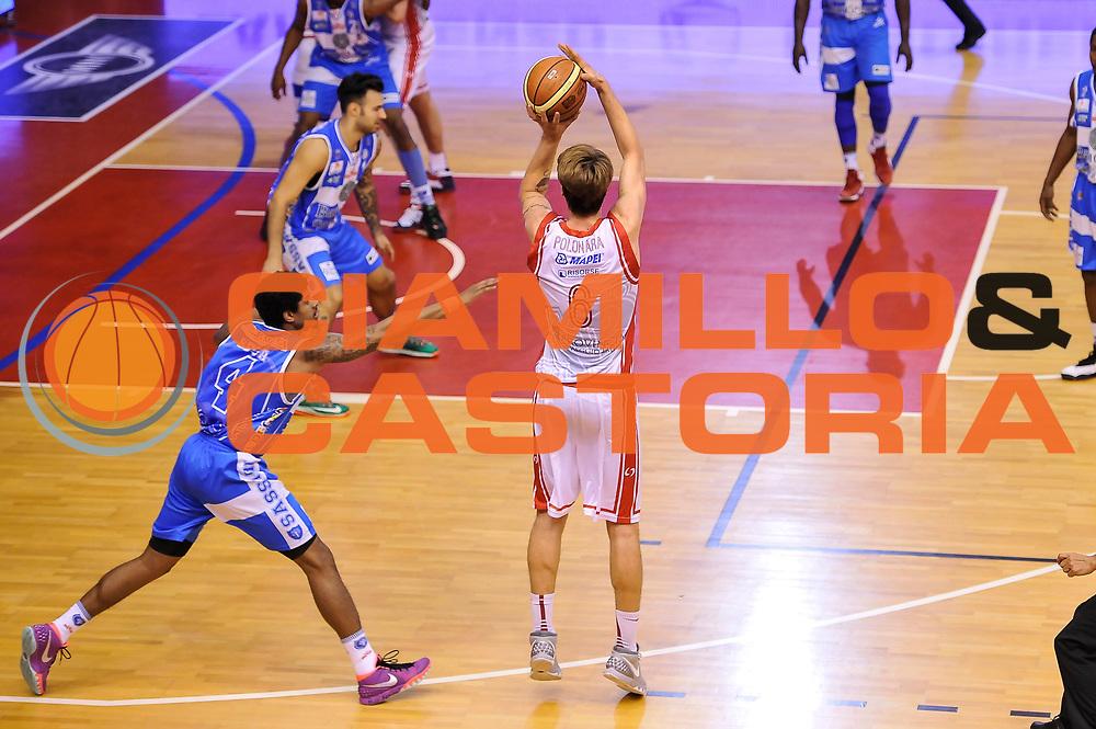 DESCRIZIONE : Campionato 2014/15 Serie A Beko Grissin Bon Reggio Emilia - Dinamo Banco di Sardegna Sassari Finale Playoff Gara7 Scudetto<br /> GIOCATORE : Achille Polonara<br /> CATEGORIA : Tiro Tre Punti Three Point<br /> SQUADRA : Grissin Bon Reggio Emilia<br /> EVENTO : LegaBasket Serie A Beko 2014/2015<br /> GARA : Grissin Bon Reggio Emilia - Dinamo Banco di Sardegna Sassari Finale Playoff Gara7 Scudetto<br /> DATA : 26/06/2015<br /> SPORT : Pallacanestro <br /> AUTORE : Agenzia Ciamillo-Castoria/L.Canu