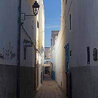 Africa, Morocco, Rabat. Rabat street.