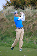 Daniel Beattie (Whitehead) on the 6th tee during the Winter Series Southern Branch PGA in Rush Golf Club on Friday 20th March 2015.<br /> Picture:  Thos Caffrey / www.golffile.ie