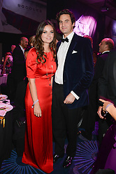 British fine jewellery brand Boodles welcomed guests for the 2013 Boodles Boxing Ball in aid of Starlight Children's Foundation held at the Grosvenor House Hotel, Park Lane, London on 21st September 2013.<br /> Picture Shows:- RUPERT & LADY NATASHA FINCH.<br /> <br /> Press release - https://www.dropbox.com/s/a3pygc5img14bxk/BBB_2013_press_release.pdf<br /> <br /> For Quotes  on the event call James Amos on 07747 615 003 or email jamesamos@boodles.com. For all other press enquiries please contact luciaroberts@boodles.com (0788 038 3003)