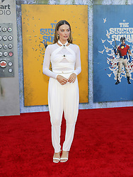 Margot Robbie at the Los Angeles premiere of 'The Suicide Squad' held at the Regency Village Theatre in Westwood, USA on August 2, 2021.
