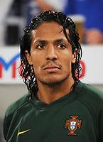 Fotball<br /> Portugal<br /> Foto: Witters/Digitalsport<br /> NORWAY ONLY<br /> <br /> 26.03.2008<br /> <br /> Bruno Alves<br /> Fussball Portugal