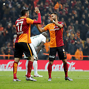 Galatasaray's Burak Yilmaz during their Turkish Super League soccer match Galatasaray between Bursaspor at the AliSamiYen Spor Kompleksi TT Arena at Seyrantepe in Istanbul Turkey on friday, 04 December 2015. Photo by Kurtulus YILMAZ/TURKPIX