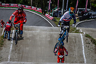 #211 (EVANS Kyle) GBR during round 4 of the 2017 UCI BMX  Supercross World Cup in Zolder, Belgium.