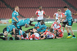 South Africa - Johannesburg, Emirates Airlines Park. 24/08/18  Currie Cup. Lions vs Griquas. Loose scrum<br />  Picture: Karen Sandison/African News Agency(ANA)