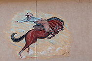 Matador, Texas, Bob McClellan mural