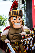 USC Marching Band Mascot, at the Los Angeles Times Festival of Books held at USC in Los Angeles, California on Saturday, April 22, 2017