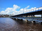 Foyle Bridge, It is one of only a few double-decker, road bridges in Europe.