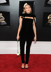 NEW YORK, NY - JANUARY 28: 60th Annual GRAMMY Awards at Madison Square Garden on January 28, 2018 in New York City. 28 Jan 2018 Pictured: Miley Cyrus. Photo credit: JP/MPI/Capital Pictures / MEGA TheMegaAgency.com +1 888 505 6342