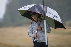 Sweden's Cajsa Persson on the 15th green during her semi final match with Great Britain this morning during day eleven of the 2018 European Championships at Gleneagles PGA Centenary Course. PRESS ASSOCIATION Photo. Picture date: Sunday August 12, 2018. See PA story GOLF European. Photo credit should read: Kenny Smith/PA Wire. RESTRICTIONS: Editorial use only, no commercial use without prior permission