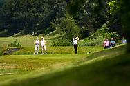 28-05-2016 Foto's van de kruisfinales in de hoofdklasse van de NGF Competitie 2016.<br /> Foto: Zhen Bontan - Dames De Pan 1. Genomen tijdens Finaleweekend NGF Hoofdklasse 2016 bij Goyer Golf & Country Club in Eemnes, Nederland.