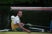Henley. Great Britain.   Molesey Eights 40+ and 50+ 175th  Henley Royal Regatta, Henley Reach. England. 07:48:50  Sunday  06/07/2014. [Mandatory Credit; Intersport-images] <br /> <br /> Crews 40's Bow, Dan RITCHIE, James WRIGHT, Jonny SEARLE, Guy POOLEY, Alex Partridge, Mike BLOMQUIST, Simon FIELDHOUSE, Dave GILLARD, Neil CHUGANI,<br /> <br /> 50's Richard STANHOPE, Martin CROSS, Malcolm MCGOWAN, Joe MICHELS, Jean CHRISTOPHE-ROLLAND, Matt PINSENT, Ian MCNUFF, Diederik SIMON cox Gary HERBERT