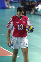 23-09-2000 AUS: Olympic Games Volleybal Joegoslavie - Argentinie, Sydney<br /> Vujevic, Goran