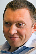 Moscow, Russia, 22/02/2007.<br /> Oleg Deripaska, owner of RUSAL Ltd, estimated to be Russia's richest man with a worth of US$14 billion.