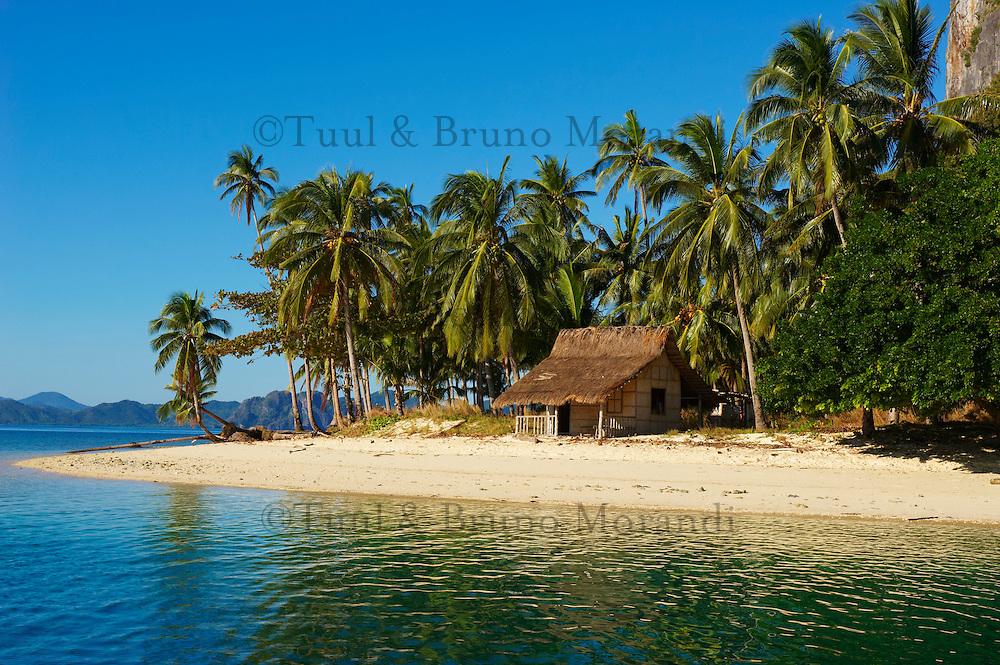 Philippines, ile de Palawan, archipel de Bacuit at El Nido. // Philippines, Palawan island, Bacuit archipelago at El Nido.