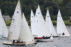 Marine Blast Regatta 2013 - Holy Loch SC<br /> <br /> Piper Start with, 41, Mona, Thom Bateman and 18, Billie Piper, Iain Hurrel, OD, Piper <br /> <br /> Credit: Marc Turner / PFM Pictures