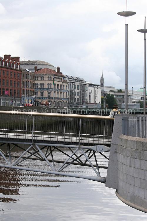 Millennium bridge Dublin Ireland