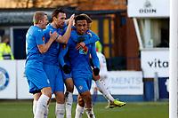 Alex Reid. Stockport County FC 2-0 Chesterfield FC. Vanarama National League. 27.2.21 Edgeley Park.