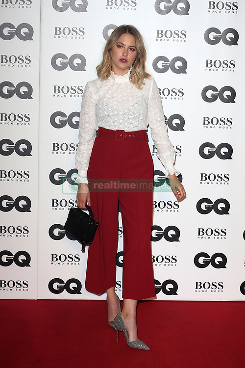 GQ Men of The Year Awards in Association with Hugo Boss at Tate Modern in London, UK. 05 Sep 2018 Pictured: Tess Ward. Photo credit: Fred Duval/MEGA TheMegaAgency.com +1 888 505 6342