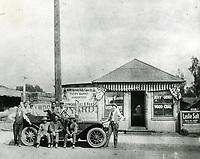 1911 Hollywood Fuel and Feed Company on Cahuenga Ave.