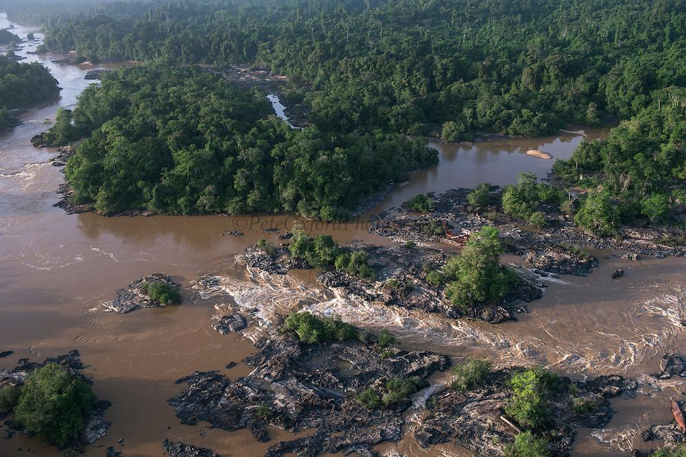 Kamaria Falls<br /> Cuyuni River<br /> GUYANA<br /> South America