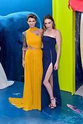 August 6, 2018 - Los Angeles, Kalifornien, USA - Ruby Rose und Jessica McNamee bei der Premiere des Kinofilms 'The Meg' im TCL Chinese Theatre. Los Angeles, 06.08.2018 (Credit Image: © Future-Image via ZUMA Press)
