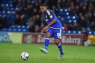 Cardiff city's Kagisho Dikgacoi in action. Skybet football league championship match, Cardiff city v Middlesbrough at the Cardiff city Stadium in Cardiff, South Wales  on Tuesday 20th October 2015.<br /> pic by  Andrew Orchard, Andrew Orchard sports photography.