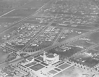 1926 Aerial photo of Carthay Circle Theater