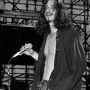 WATERLOO VILLAGE AUGUST 11: Chris Cornell of Soundgarden performs during Lollapalooza 1992 at Waterloo Village in Stanhope, New Jersey August 11, 1992 in Allentown, Pennsylvania. ©Lisa Lake