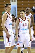 DESCRIZIONE : Milano Lega A 2013-14 Cimberio Varese vs Umana Reyer Venezia <br /> GIOCATORE : Polonara Achille+De Nicolao Andrea<br /> CATEGORIA : Ritratto<br /> SQUADRA : Cimberio Varese<br /> EVENTO : Campionato Lega A 2013-2014<br /> GARA : Cimberio Varese vs Umana Reyer Venezia<br /> DATA : 27/10/2013<br /> SPORT : Pallacanestro <br /> AUTORE : Agenzia Ciamillo-Castoria/I.Mancini<br /> Galleria : Lega Basket A 2013-2014  <br /> Fotonotizia : Milano Lega A 2013-14 EA7 Cimberio Varese vs Umana Reyer Venezia<br /> Predefinita :