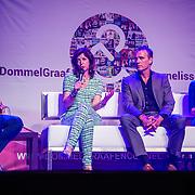 NLD/Amsterdam/20160509 - Seizoenspresentatie Dommels & de Graaf 2016, Paula Bangels, Chris Tates, Roos van Erkel