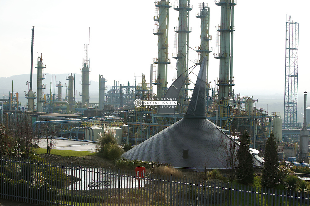 Ineos Chlor; chemical works near Runcorn; Cheshire,