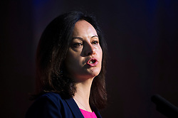 © London News Pictures. 16/05/2015.  Caroline Flint speaking at Progress Annual Conference held at TUC Congress House in London to discuss the labour leadership race following a heavy defeat in the recent general election..  Photo credit: Ben Cawthra/LNP