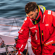 Leg 11, from Gothenburg to The Hague, day 02 on board MAPFRE, Blair Tuke. 22 June, 2018.