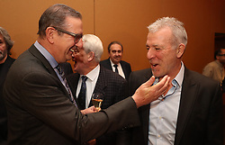 December 18, 2017 - Genval, BELGIUM - Georges Leekens and Eric Gerets pictured at the seventh edition of the Raymond Goethals award, for the coach who was the closest to Raymond Goethals, Monday 18 December 2017, in Genval. BELGA PHOTO VIRGINIE LEFOUR (Credit Image: © Virginie Lefour/Belga via ZUMA Press)